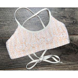 crochet swim top